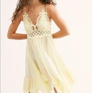 Free People Lace Mini Dress (NWT)